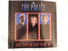 """THE POLICE """"Don't Stand So Close To Me '86"""" PICTURE SLEEVE! BRAND NEW!"""