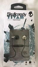 Skullcandy Titan Supreme Sound Headphones Black /Chrome New Rare Discontinued