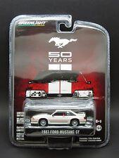 Greenlight 1/64 1987 Ford Mustang GT _ Mustang 50th Anniversary