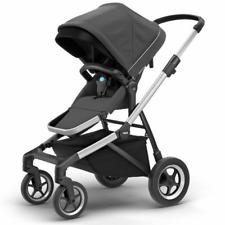 Thule Sleek Sportkinderwagen Kinderwagen Multifunktion Buggy Baby Dunkelgrau
