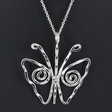 Chain Necklace Fashion 9807 Costume Anju Butterfly Pendant
