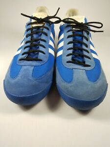 Adidas Dragon M 12 Royal white stripes pre-owned good condition, flaws