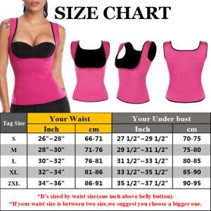 Sauna Sweat Body Shaper Tops Women Slimming Vest Thermo Fat Bruner Waist Trainer
