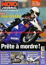 MOTO JOURNAL 1257 HONDA VT 750 C SUZUKI GSX-R 600 VOXAN YAMAHA XV 535 Virago