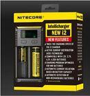 New Nitecore Intellicharger i2 Li-ion/NiMH Universal Battery Charger US/AU/EU