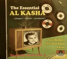 The Essential AL KASHA (Singer, Song Writer, Producer) - Vol#2 on CBR #1074