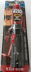 Disney Firefly Darth Vader Lightsaber Toothbrush Red Kylo Ren