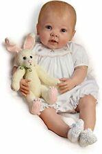 "Ashton Drake ""Bunny Hugs"" RealTouch® vinyl Baby Doll"