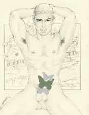 "Male Nude Gay Interest ""Cupatitzio"" Original, NOT a copy by Mario Bieletto"