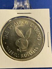 Original $1 Playboy Club Nassau Bahamas Token