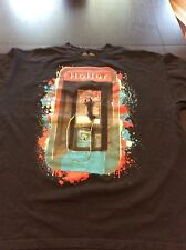 Black T-Shirt Graphic Pay Phone on Front Holler Size XL