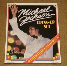 MICHAEL JACKSON DELUXE COLORFORMS DRESS UP SET SEALED ~ 1984