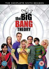 The Big Bang Theory - Season 9 Jim Parsons, Kaley Cuoco, NEW UK REGION 2 DVD
