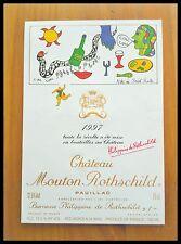 Étiquette - Mouton Rothschild 1997 - 75 cl.