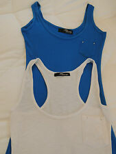 jane norman vest tops x 2 bnwot