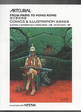 Catalogue vente BD. 5 octobre 2015 à Hong Kong. Moebius, Hergé, Bilal. ARTCURIAL