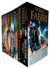 Robert Fabbri Vespasian Series 8 Books collection set Corvus Paperback NEW