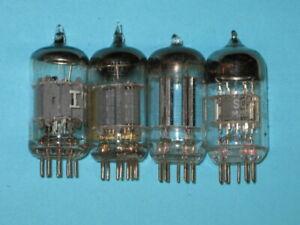 12AX7 - TV AUDIO GUITAR AMPLIFIER HAM RADIO tube -- lot of 4