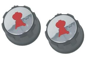 Weber 69892 Set of 2 Replacement Gas Control Knobs Spirit 200