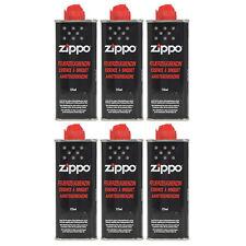 Feuerzeugbenzin ZIPPO 6 x Original Benzin je 125 ml Zippo Feuerzeuge