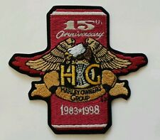 HOG Harley Owners Group 15th Anniversary Patch *NEW*