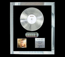 DELTA GOODREM DELTA   MULTI (GOLD) CD PLATINUM DISC FREE POSTAGE!!