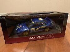 *SIGNED* 1/18 AUTOART Subaru Impreza WRC Monte Carlo Rally '99 Burns Reid #5