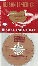 ALISON LIMERICK & FRANKIE KNUCKLES Where Love Lives 6TRX MIXES CD Paul oakenfold