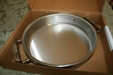 All Clad 9 inch round baker Stainless Steel triply