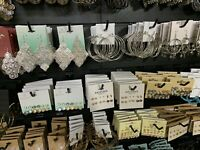 New Lot Of 40 Fashion Jewelry Earrings, Rings, Wholesale US Seller New Lots