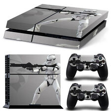 Sony PS4 Console and Controller Skins / Decal -- Star Wars-Storm Trooper (20070)