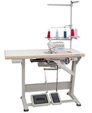 New JUKI MO-6814S OVERLOCK 3-4 thread Machine complete + table + servo