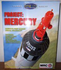 MRC Project Mercury US Orbital Spacecraft Capsule W/ Retrieval rocket kit  1/12