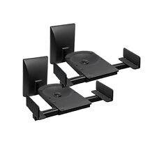 2 Stück Boxenhalter Wandhalter für Audio Speaker verstellbar lautsprecher Halter