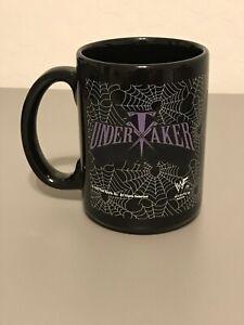 The Undertaker Vintage WWF Mug 1998 - Black