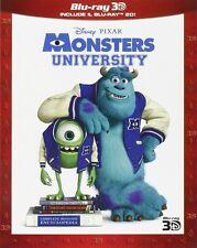 Blu Ray MONSTERS UNIVERSITY - (3D) (Blu-Ray+Blu-Ray 3D/2D) ......NUOVO