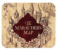 MOUSE MAT 58 Harry Potter The Marauder's Map Office Rectangle rubber mouse mat