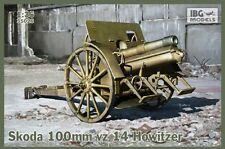 100mm Skoda VZ.14 (10cm M.14 Feldhaubitze WW I austro-húngara Howitz) 1/35 Ibg