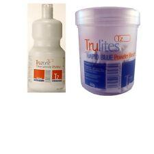 TRUZONE CREAM PEROXIDE-RAPID BLUE/WHITE POWDER BLEACH HAIR COLOUR ACCESSORIES