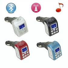 LCD Bluetooth Car Kit MP3 Player FM Transmitter Modulator SD USB with Remote