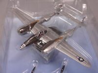 America Lockheed P-38J 1/100 Scale War Aircraft Japan Diecast Display vol 166
