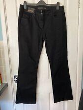 BNWT Next Women's Black Bootcut Jeans Size 16L