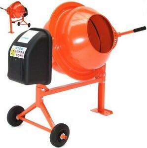 Portable Cement 55503 Concrete Mixer 70L Mortar Mixer with Stand 70 ltr