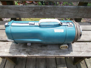 Vtg Teal Electrolux Vacuum Cleaner-Canister Only-Model L