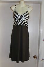 NWT GORGEOUS DRESS SZ-10 BY CHARLIE BROWN RETAILS FOR $199.00 BARGAIN BUY