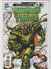 Swamp Thing #0 New 52 Dc Comics 2011 Nm