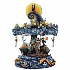 Tim Burton Disney The Nightmare Before Christmas Illuminated Musical Carousel
