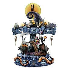 Tim Burton Disney The Nightmare Before Christmas Illuminated Musical Carousel