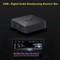 Car DAB+ Digital Radio Receiver Box Amplified Antenna Fit For Android Head Unit