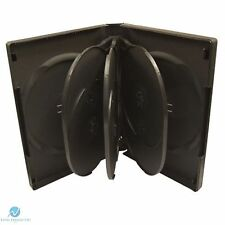 100 X 8 Manera Negro DVD 27 mm columna vertebral posee 8 discos en blanco nuevo caso de reemplazo